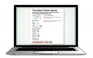 Transplant Center Search Tool