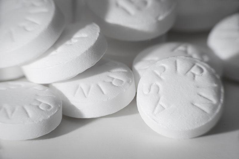 image of a pile of aspirin
